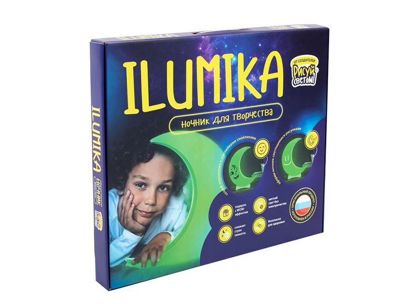 Ночник для творчества Ilumika Луна 4630014510927