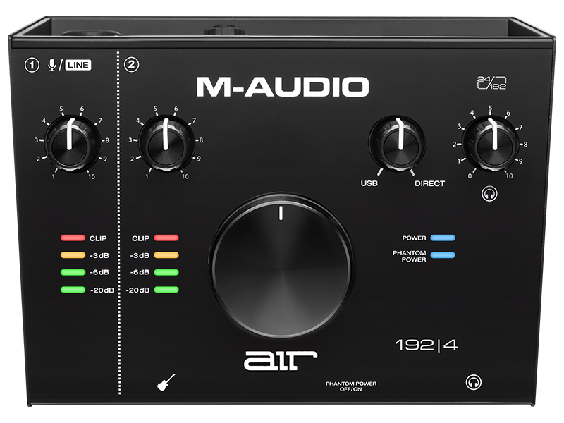 Аудиоинтерфейс M-Audio AIR 192|4