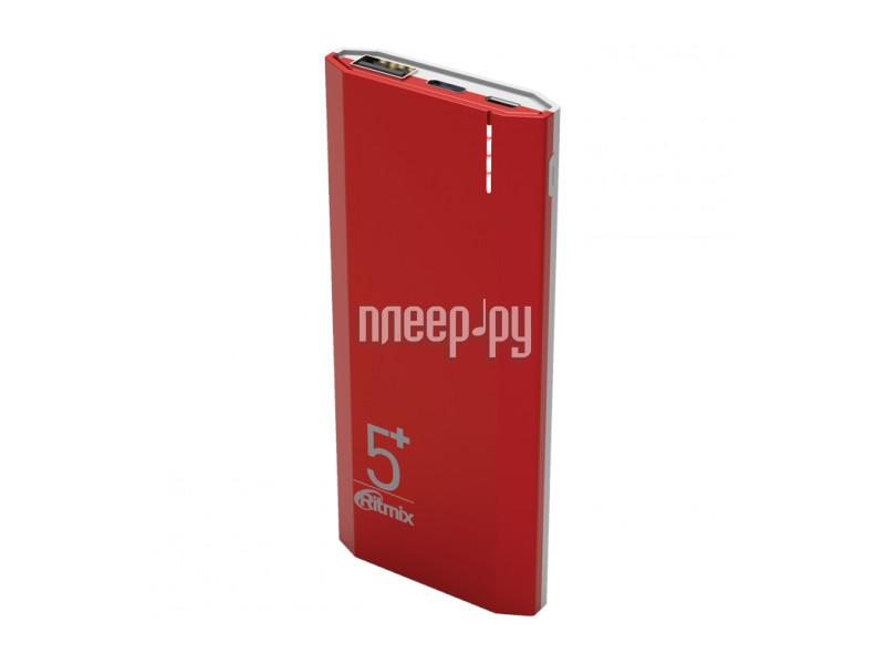 Аккумулятор Ritmix RPB-5002 5000mAh Red