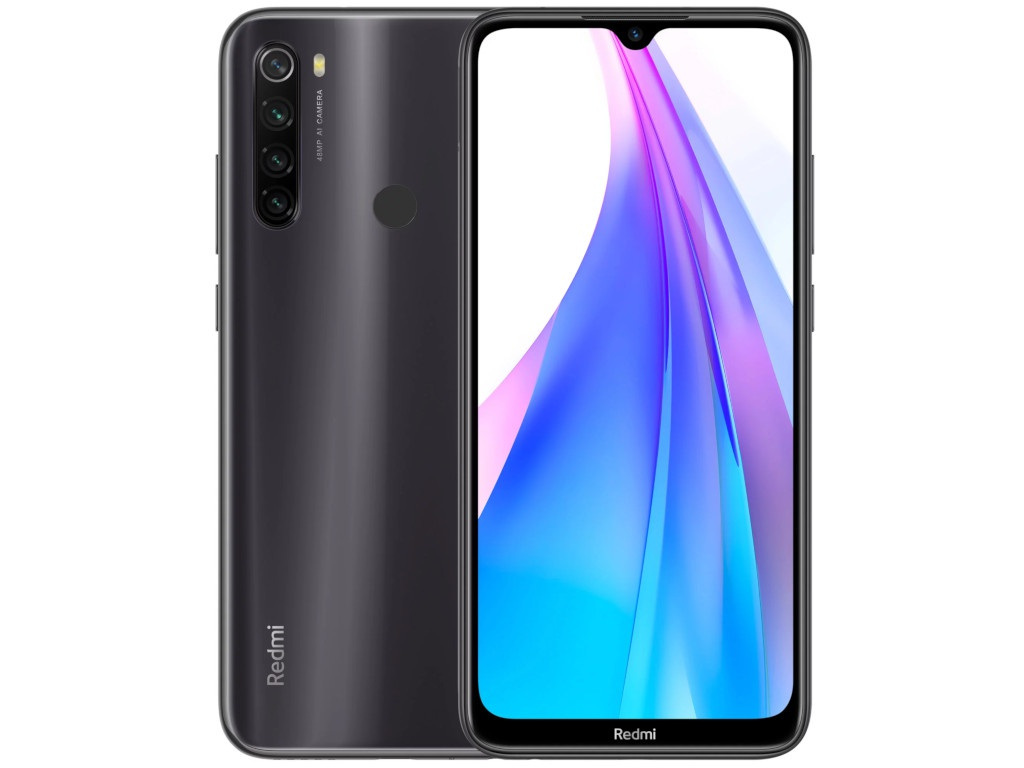 Сотовый телефон Xiaomi Redmi Note 8T Moonshadow Grey