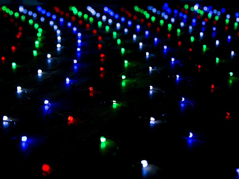 Гирлянда Luxor Сетка BC-681 320 светодиодов 3.20x1.3m 1058938