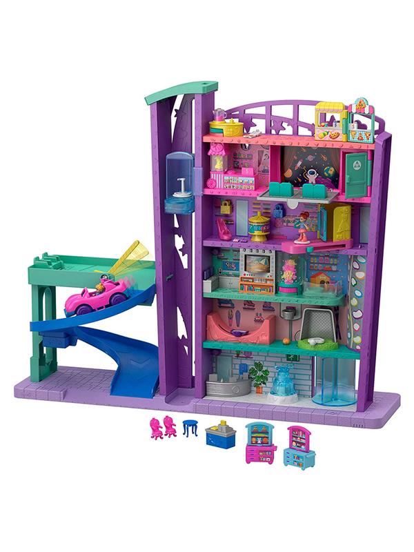 Mattel Polly Pocket Полливиль Мегамолл GFP89