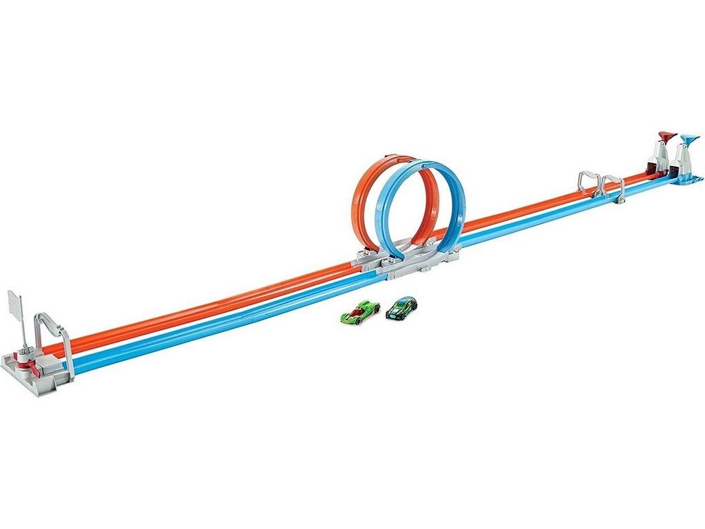 Автотрек Mattel Hot Wheels Скоростные мертвые петли GFH85