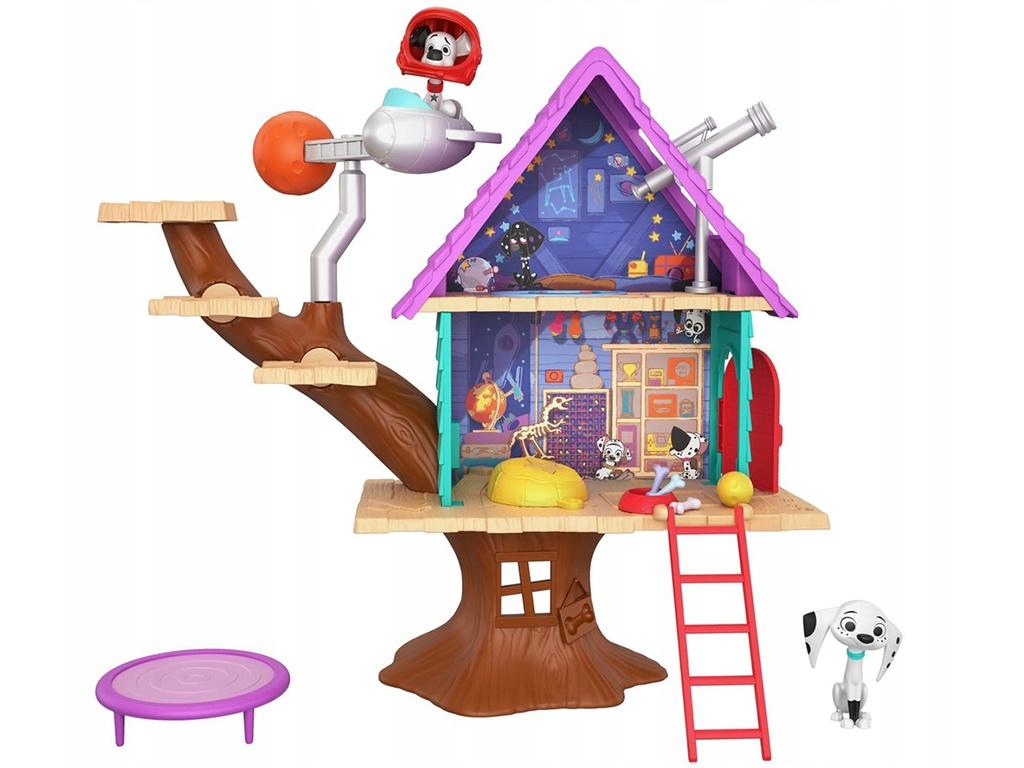 Кукольный домик Mattel 101 Dalmatians Домик на дереве GDL88 все цены