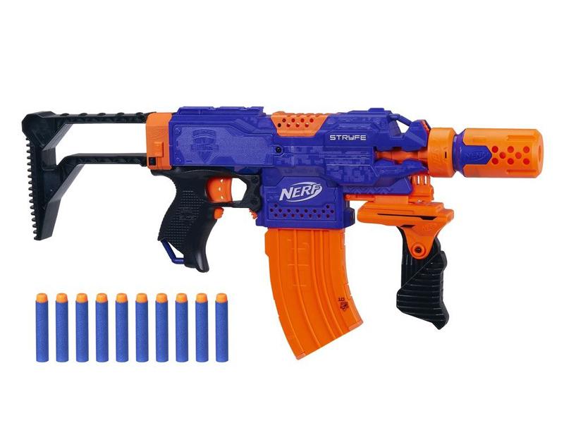 Игрушка Hasbro Бластер Нёрф Элит Супер Страйф E2341EX0