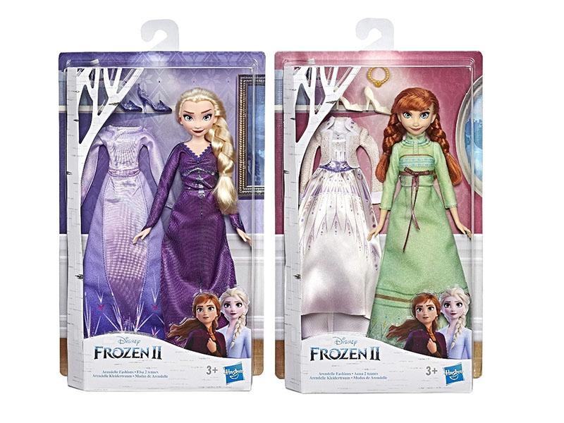 Игрушка Hasbro Кукла Холодное сердце 2 с дополнительным нарядом E5500EU4