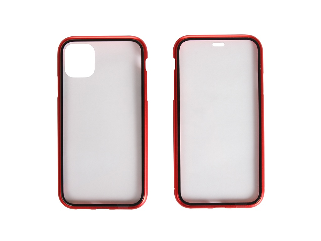 Аксессуар Чехол Activ 360 Magnetic Glass для APPLE iPhone 11 Red 108696