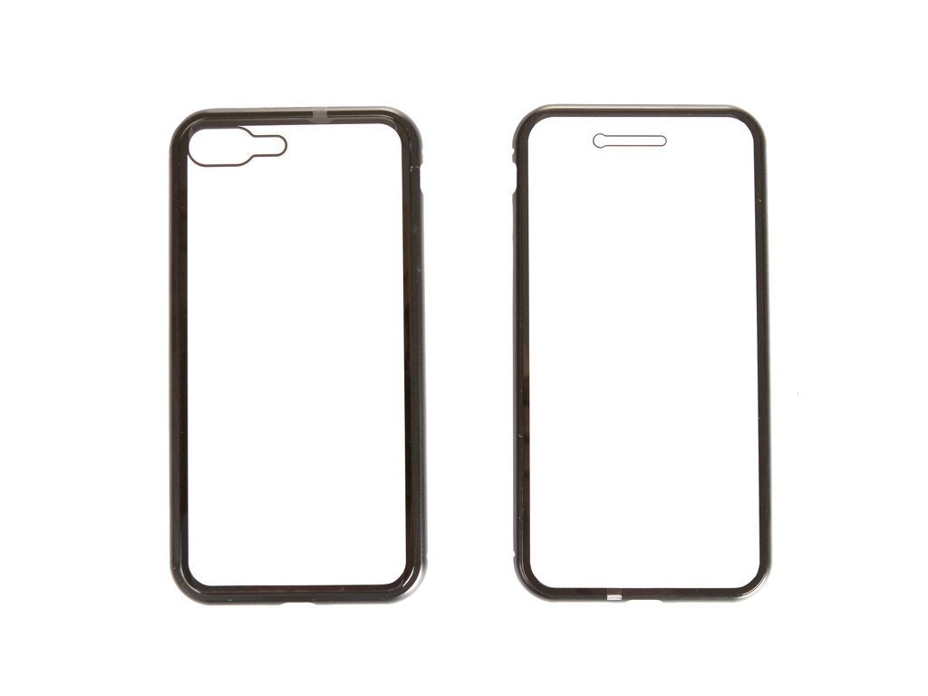 Аксессуар Чехол Activ 360 Magnetic Glass для APPLE iPhone 7/8 Plus Black 108701