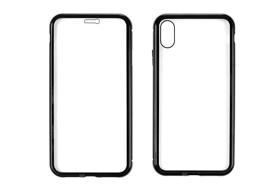 Аксессуар Чехол Activ 360 Magnetic Glass для APPLE iPhone XS Max Black 108713