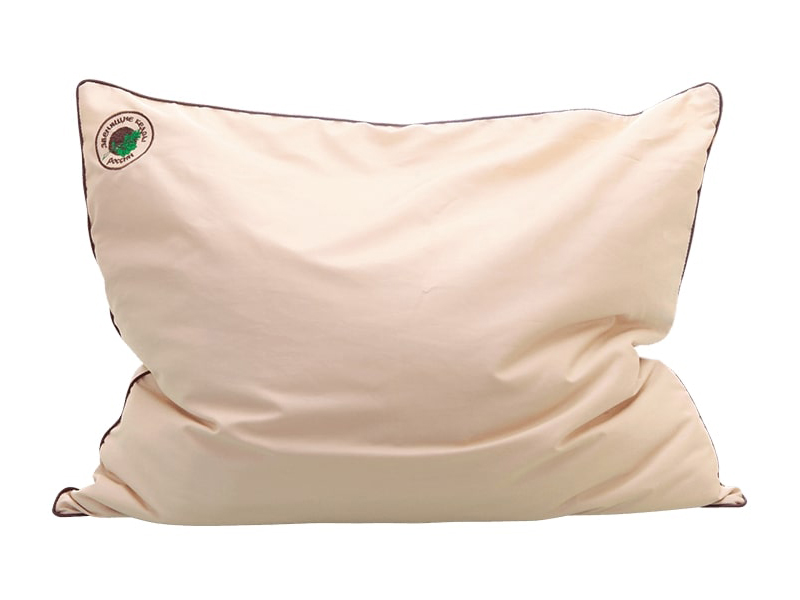 Подушка ЗвенящиеКедры Из пленки ядра кедрового ореха 50x60cm