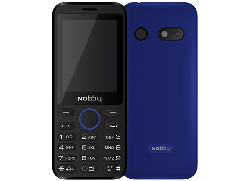 Сотовый телефон Nobby 231 Blue NBC-BP-24-313