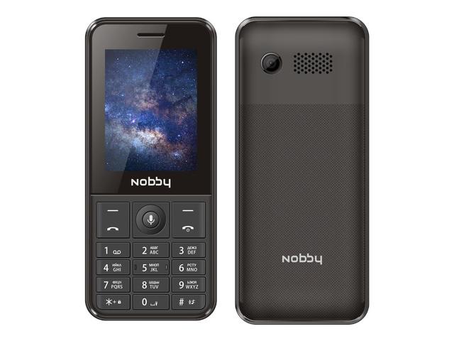 Сотовый телефон Nobby 240 LTE Black сотовый телефон nobby 110 white gray