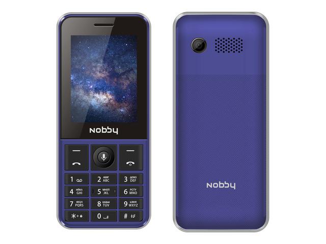Сотовый телефон Nobby 240 LTE Blue NBC-BP-24-412 сотовый телефон nobby 110 white gray
