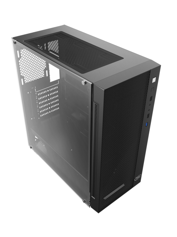 Корпус DeepCool Matrexx 55 Mesh ATX Без БП Black DP-ATX-MATREXX55-MESH