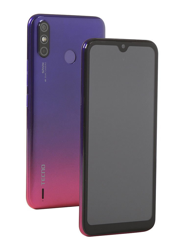 Сотовый телефон Tecno Spark 4 Air Hillier Purple