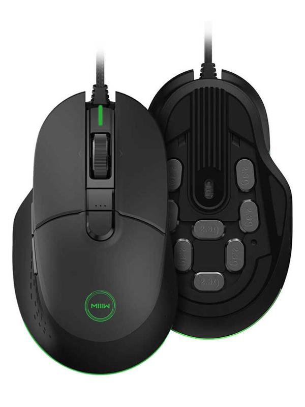 Мышь Xiaomi MIIIW Gaming Mouse 700G Black MWGM01