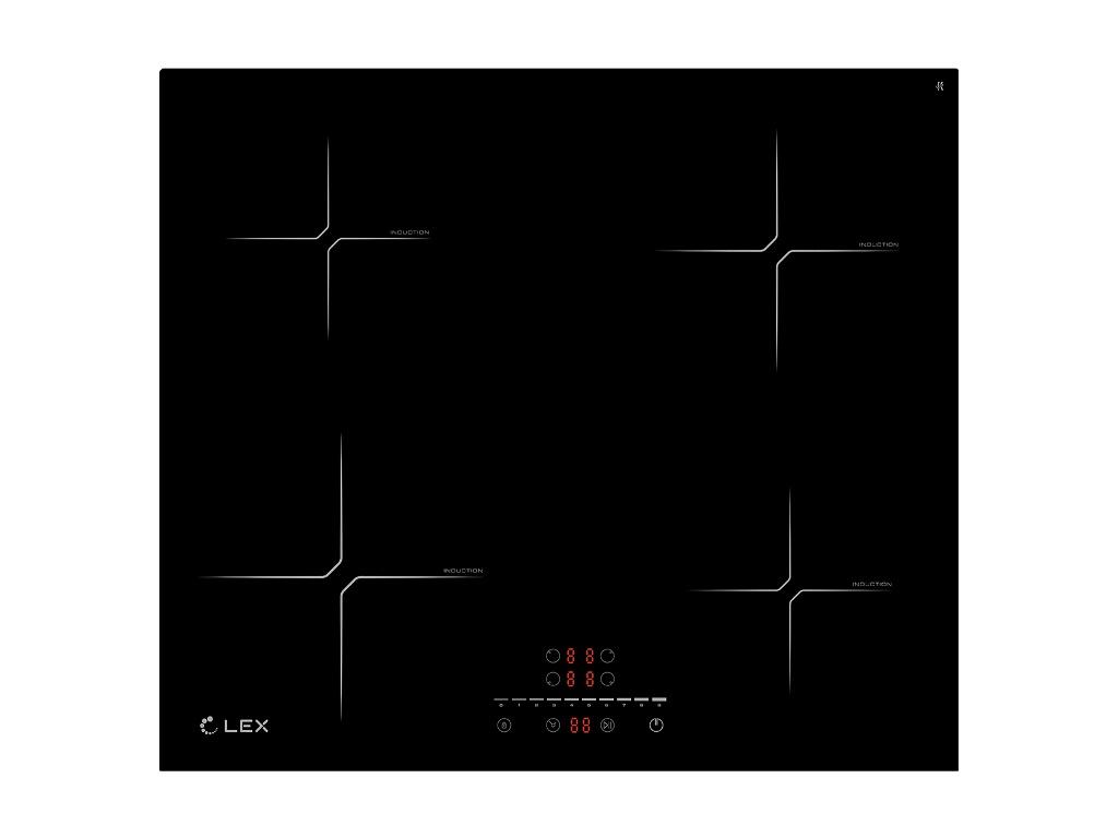 Варочная панель Lex EVI 640-2 BL Black