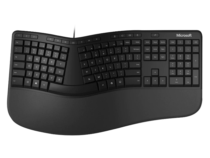 цена на Клавиатура Microsoft Kili Keyboard for Business Black LXN-00011