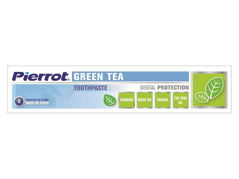 Зубная паста Pierrot Green Tea 75ml 8411732100876