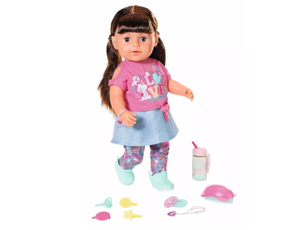 Кукла Zapf Creation Baby Born Сестричка, брюнетка 827-185