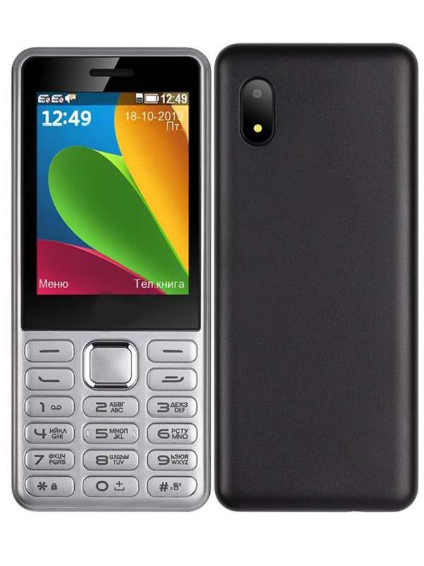 Сотовый телефон F+ S285 Silver телефон