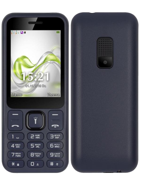 Сотовый телефон F+ F255 Dark Blue-Black