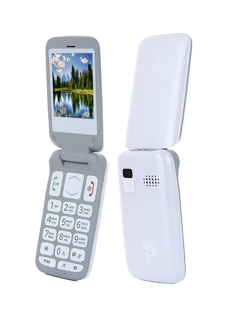 Сотовый телефон F+ Ezzy Trendy 1 White