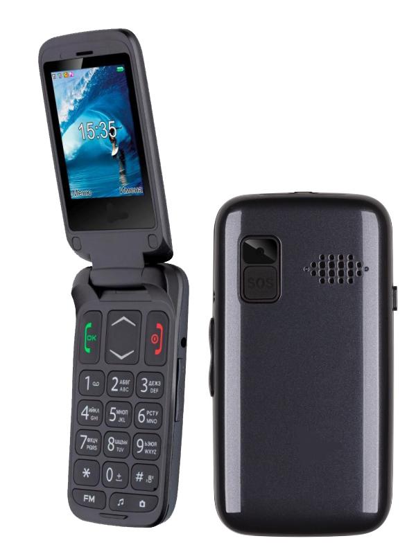 Сотовый телефон F+ Ezzy Trendy1 Grey