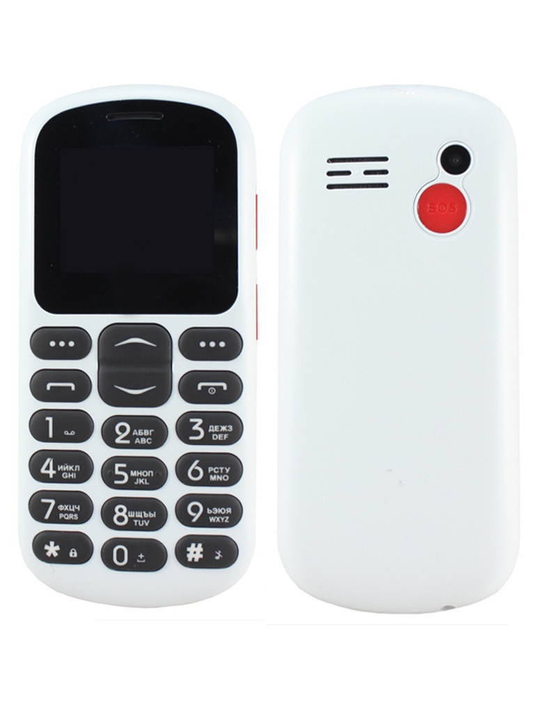 Сотовый телефон F+ Ezzy 1 White