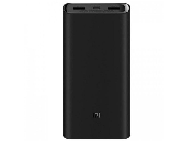Внешний аккумулятор Xiaomi Power Bank 3 Super Flash Charge 20000mAh Black PB2050ZM