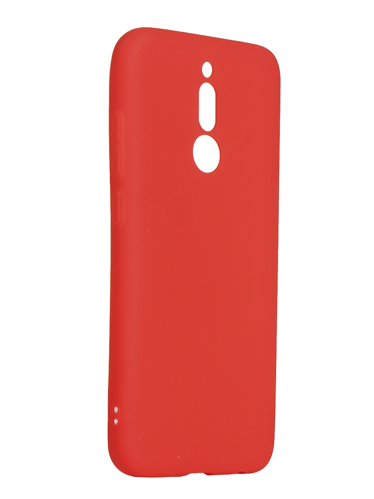 Чехол Zibelino для Xiaomi Redmi 8 2019 Soft Matte Red ZSM-XIA-RDM-8-RED