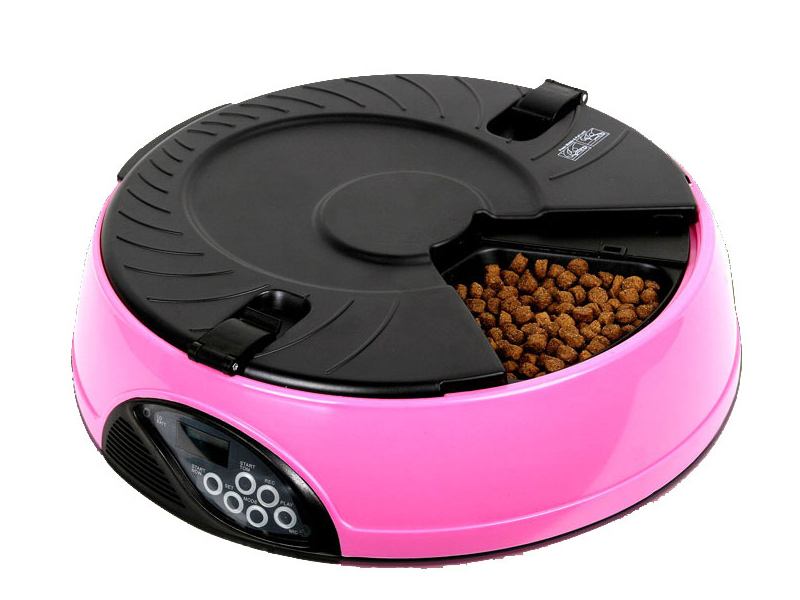 Автоматическая кормушка ZDK Petsy Home 10 Pink 5919 автоматическая кормушка petwant pf 105 black white
