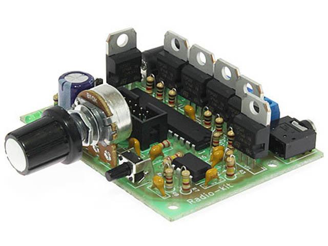 Конструктор Радио КИТ Модуль Цветомузыка RGB RL165M