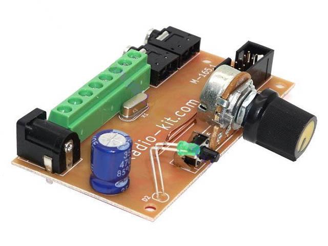 Конструктор Радио КИТ Модуль Цветомузыка RGB RL165.1M