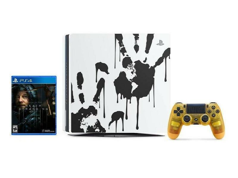 Игровая приставка Sony PlayStation 4 Pro 1Tb Black CUH-7208B + игра Death Stranding лимитированная версия PS719327608