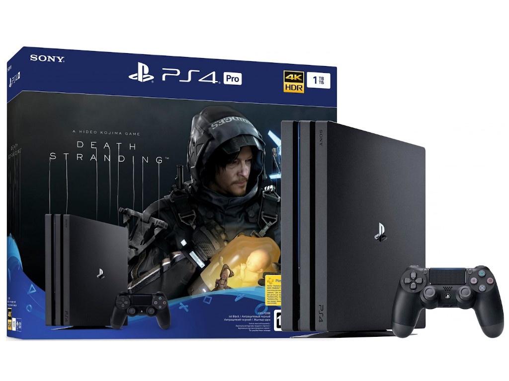 Игровая приставка Sony PlayStation 4 Pro 1Tb CUH-7208B + игра Death Stranding PS719342007