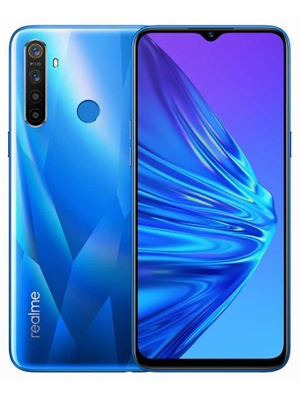 Сотовый телефон realme 5 64GB Blue телефон