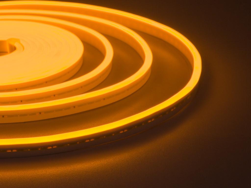 Светодиодная лента ELF NeonLine боковой изгиб 12V 5m IP 20 Yellow ELF-NL-5-side-in-Y