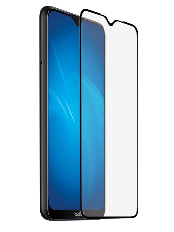 Закаленное стекло DF для Xiaomi Redmi 8/ Redmi 8A xiColor-71 Black закаленное стекло df xicolor 23 с цветной рамкой для xiaomi redmi 5 plus белый