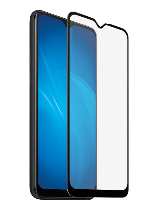 Закаленное стекло DF для Oppo A5s oColor-07 Black