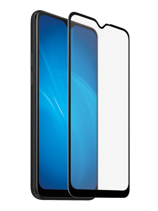 Закаленное стекло DF для OPPO A5 (2020)/A9 (2020) oColor-10 Black
