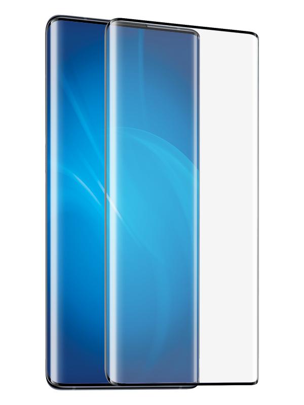 Закаленное стекло DF для Vivo Nex 3 vColor-11 Black