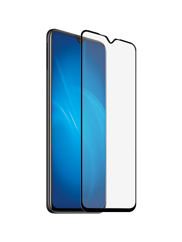 Закаленное стекло DF для Vivo Y19/U3 vColor-13 Black