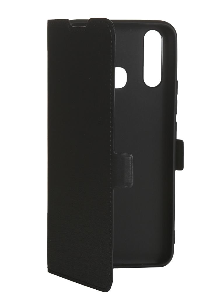 Чехол DF для Vivo Y19/Vivo U3 vFlip-05 Black