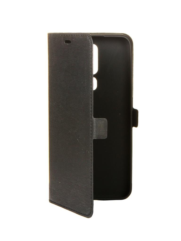 Чехол DF для Oppo A5s oFlip-02 Black