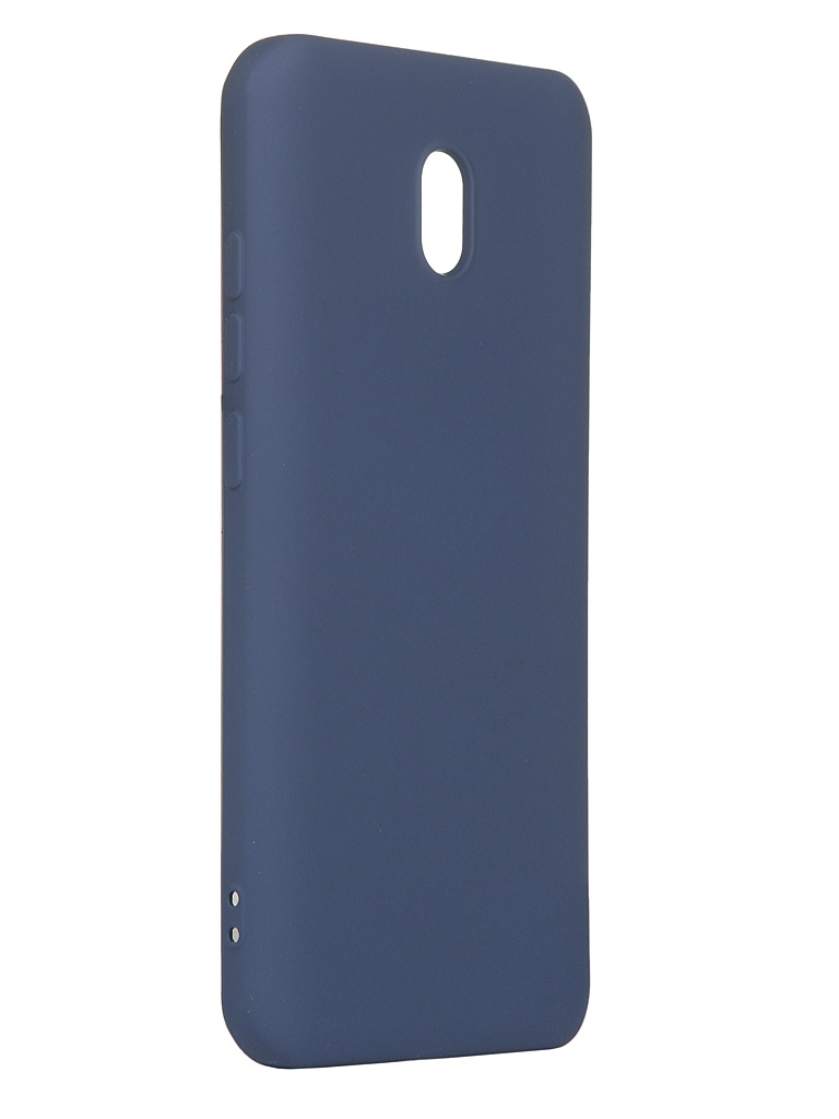 Чехол DF для Xiaomi Redmi 8A xiOriginal-04 Blue