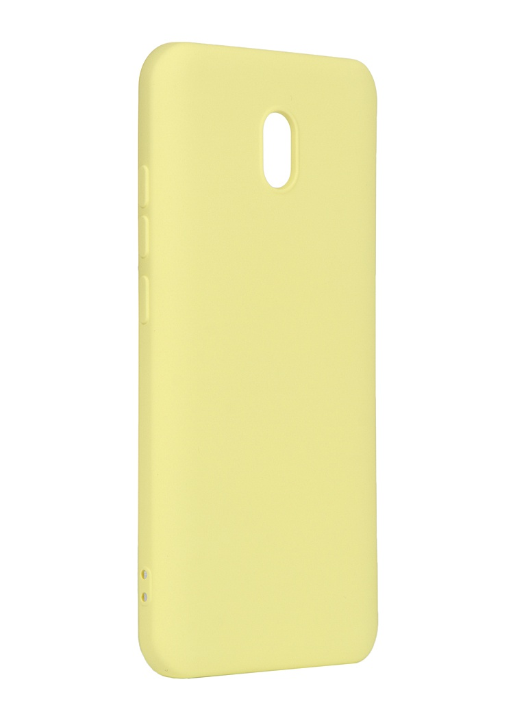 Чехол DF для Xiaomi Redmi 8A xiOriginal-04 Yellow