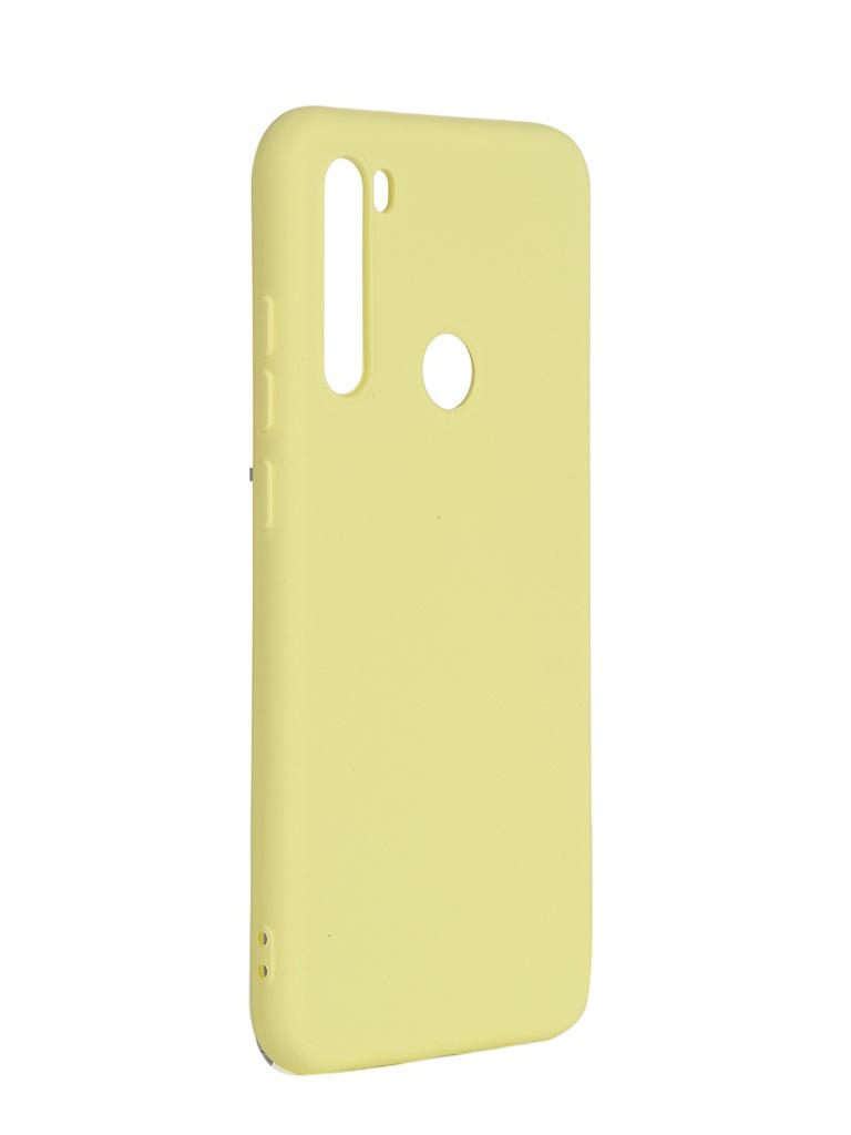 Чехол DF для Xiaomi Redmi Note 8T xiOriginal-06 Yellow