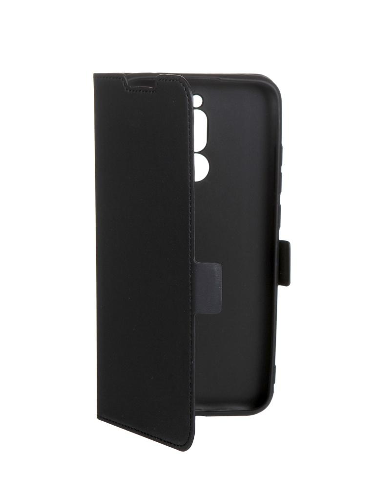 Чехол DF для Xiaomi Redmi 8 xiFlip-53 Black чехол с флипом для xiaomi redmi 6 df xiflip 29