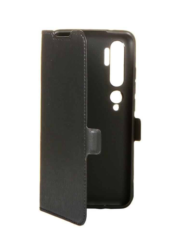 Чехол DF для Xiaomi Mi Note 10 xiFlip-54 Black